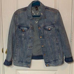 Oversized Victoria Secret Jean jacket